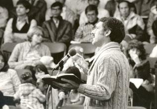 Virgil Vogt Preaching at Reba Place Church
